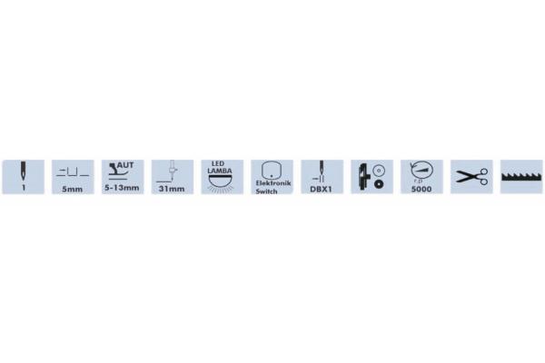 D. Drive Elektronik Led Panelli Mikro Yağlamalı Düz Dikiş Makinası (İp Bırakmayan)